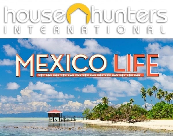 Logo of HGTV's House Hunters International and Mexico Life